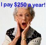 250 a year